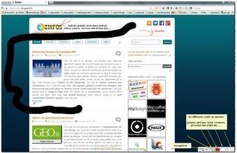 Zinfos: Screen Draw - taper du texte, dessiner sur n'importe quelle page web | le manchot rôti | Scoop.it