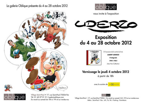 Galerie Oblique - Expo Uderzo | Planche BD | Scoop.it