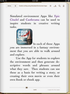 Learning and Teaching with iPads: Creating iBooks or eBook Apps | Scriveners' Trappings | Scoop.it