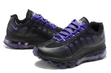 low priced 00eab fb88b UK Nike Air Max 95 360 BB Womens Black Purple Cheap Online