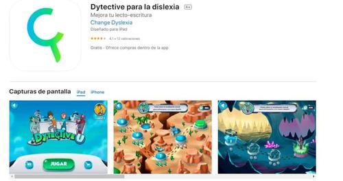 Dytective para la dislexia una aplicación para mejorar la lecto-escritura