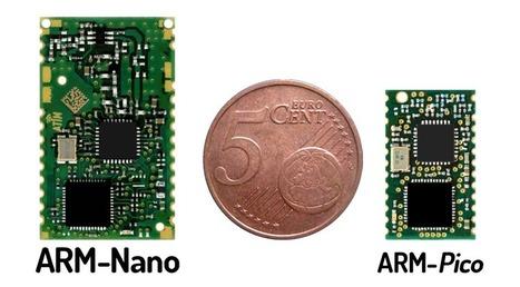 Le module radio Sigfox se réduit aux dimensions de 12 x 20 mm avec ATIM | Cloud Wireless | Scoop.it