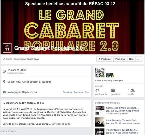 Facebook propose une nouvelle identité visuelle à ces Évènements | Médias sociaux | Scoop.it