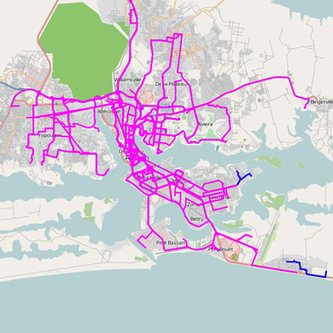 African Bus Routes Redrawn Using Cell-Phone Data | MIT Technology Review | Innovación cercana | Scoop.it