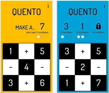 Daily iPhone App: Quento is a spelling game, but with math | iPhones and iThings | Scoop.it