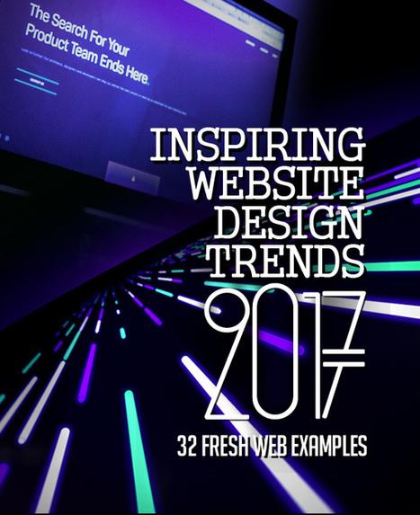 32 New Trend Website Design Examples | El Mundo del Diseño Gráfico | Scoop.it