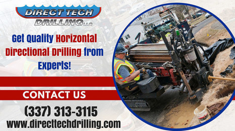 Directional drilling - Alternative excavation T