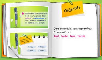 Grammaire : trois modules de formation en ligne | FLE enfants | Scoop.it