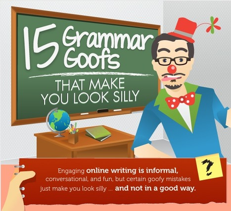 15 Grammar Goofs That Make You Look Silly | Copyblogger | Prionomy | Scoop.it