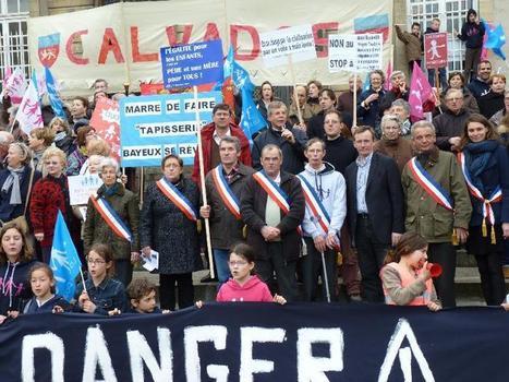 Manif pour tous : 230 manifestants à Bayeux | La Manche Libre bayeux | Actu Basse-Normandie (La Manche Libre) | Scoop.it