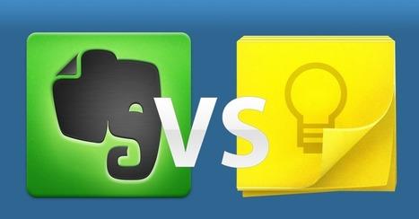 Evernote vs. Google Keep: Which Does More? | Cibereducação | Scoop.it