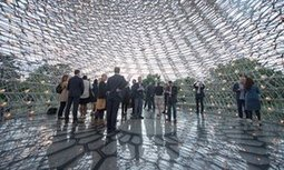 The sculpture controlled by bees: Wolfgang Buttress's Hive   Sustainable imagination   Scoop.it