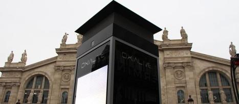 Une colonne numérique intelligente à Paris | Le monde demain | Scoop.it