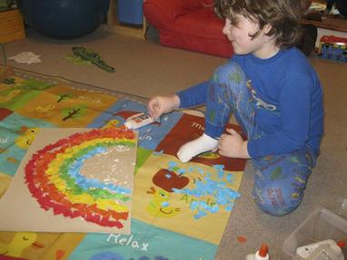 Scrap Paper Rainbows « Green Kid Crafts   Kids Going Green!!   Scoop.it