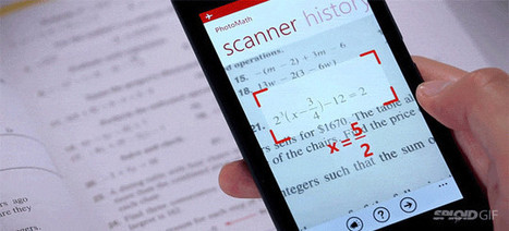 Genius app instantly solves math problems by using a phone's camera | Special Educator Technology | Scoop.it