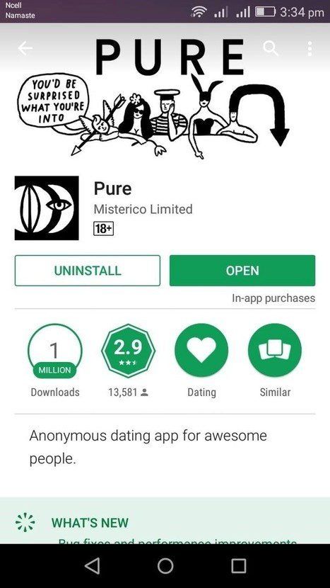 Pure dating app download