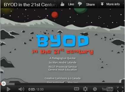 BYOD in the 21st Century - A Look at the Issues with a Great Video | E-Learning and Online Teaching | Scoop.it