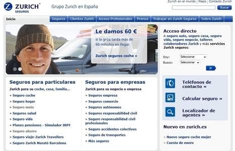 Zurich.es: Información y presupuesto de seguros   Compañías Aseguradoras   Scoop.it