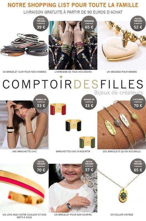 Shopping list de Noël pour toute la famille sur comptoirdesfilles.com - Comptoir des Filles | Comptoir des Filles | Scoop.it