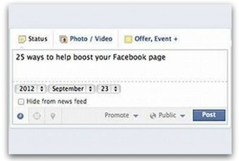 25 Facebook tips every social media manager needs | Articles | Main | B2B Marketing and PR | Scoop.it