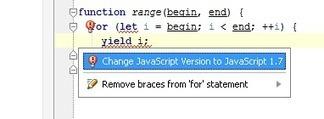 New in 4.0: JavaScript.next syntax support | WebStorm & PhpStorm Blog | javascript.js | Scoop.it