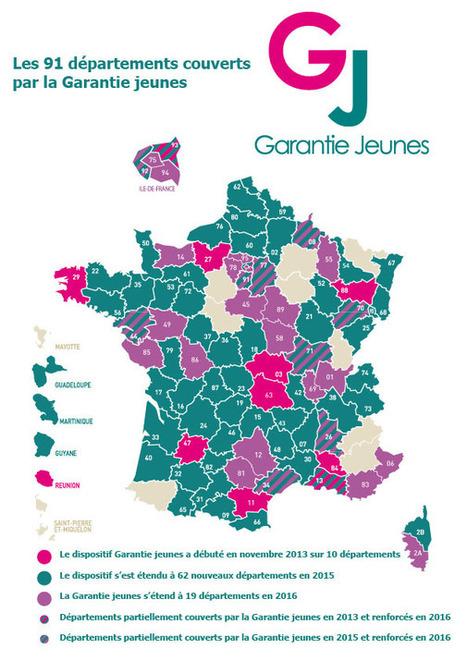 La Garantie jeunes s'étend à 19 nouveaux départements dont le ValdOise | Infos en Val d'Oise | Scoop.it