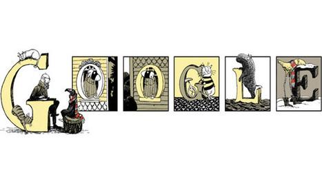 Il doodle di Google è per il fumetto gotico di Edward Gorey | InTime - Social Media Magazine | Scoop.it