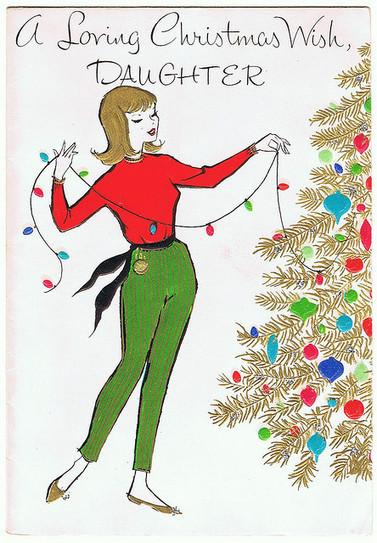 Vintage Christmas Card   Flickr: partage de photos!   Du fait main & some handmade   Scoop.it