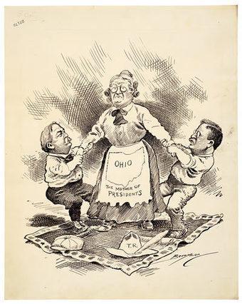 Running for Office - Cartoons of Clifford K. Berryman | Carolyn Thompson | Scoop.it