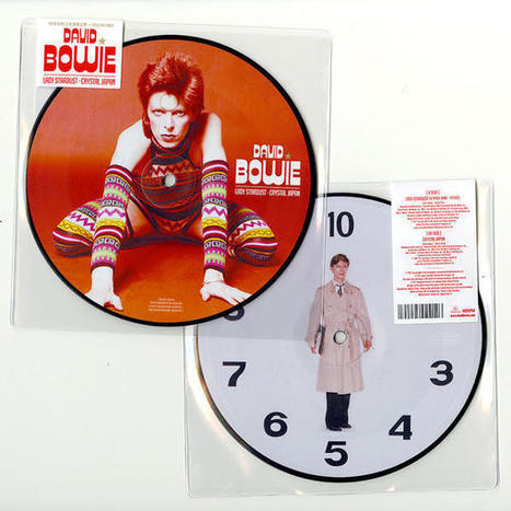 Limited edition Japanese picture disc details - David Bowie Official Blog | B-B-B-Bowie | Scoop.it