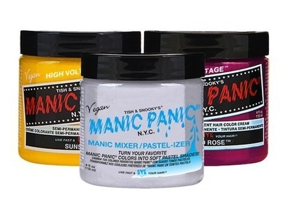 Manic Panic's High Voltage Hair Color Still Has Plenty Of Shock Value - Style.com   Hair There and Everywhere   Scoop.it