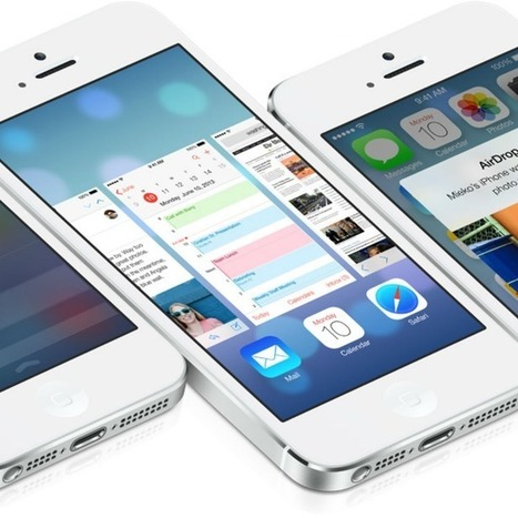 With iOS 7, Apple Leads by Following | Technology Posts | Scoop.it