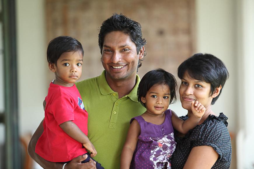 Photos Kumar Sangakkara Family Photo Album S