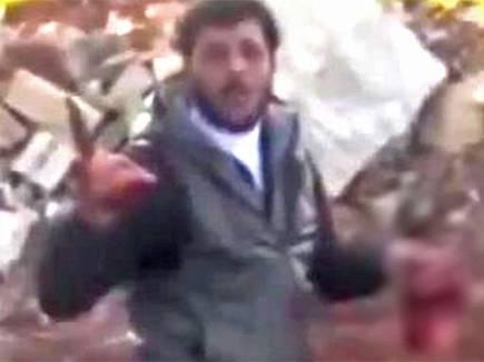 Syrian civil [ PROXY] war: The day I met the organ eating cannibal rebel Abu Sakkar's fearsome followers #FSA | Saif Gaddafi - A Case Study of Human Perversity Against a Bigger Man. | Scoop.it