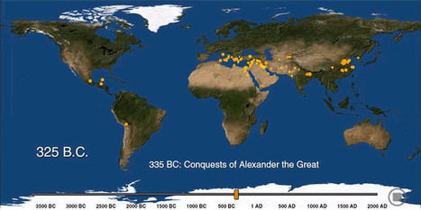 See the Exact Moment When the World's Biggest Cities Were Born | HISTORY RESEARCHER | Scoop.it