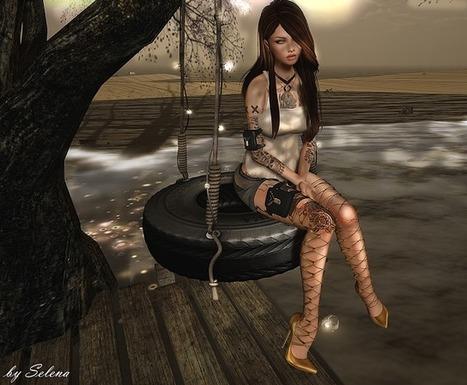 Well Dressed: ♔Look 2051 | Finding SL Freebies | Scoop.it