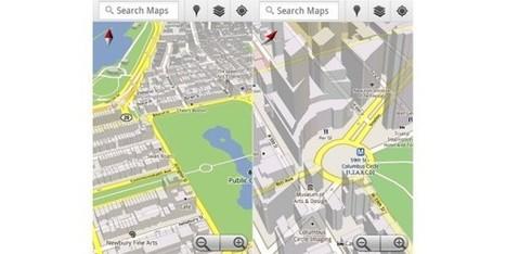 Nova versão do Google Maps para Android   PCGuia   GIS Móvel   Scoop.it