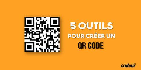 5 outils gratuits pour créer un QR Code | Web Inspiration | Scoop.it