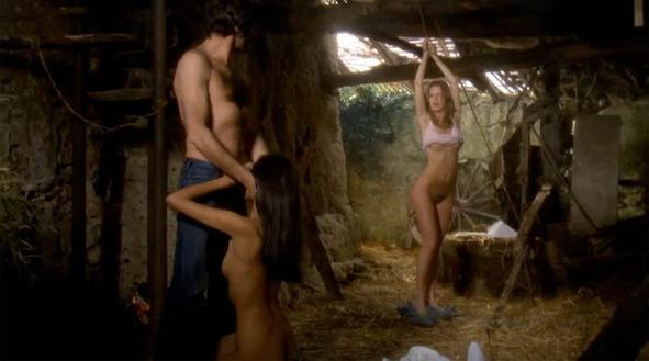 Lina romay martine stedil lesbo scenes from downtime - 3 3