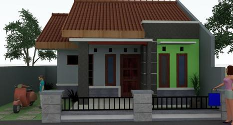 Model Rumah Sederhana Di Kampung Model Interi