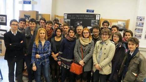 Les Ciné sup exposent à Guisthau   L'actualité de l'argentique   Scoop.it