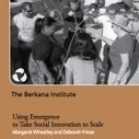 Using Emergence to Take Social Innovation to Scale | Conciencia Colectiva | Scoop.it