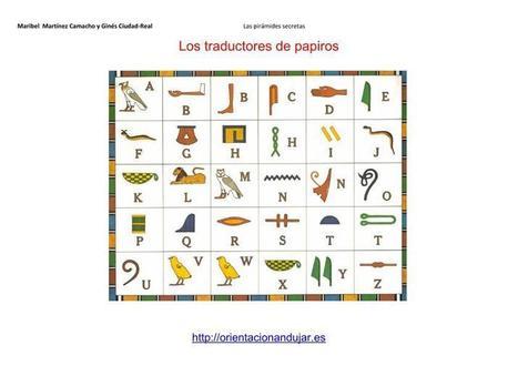 Atención en primaria e infantil: Los traductores de papiros Nivel inicial I | Orientacion Andujar | Educación en Castilla-La Mancha | Scoop.it