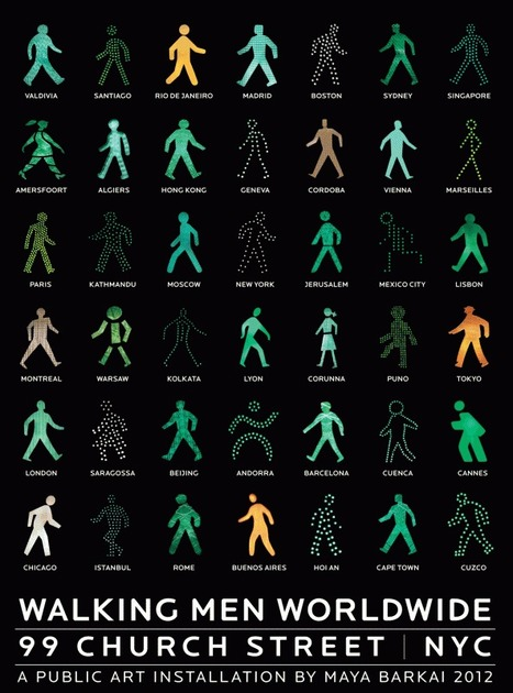 [graphic design] The Walking Men - le picto est-il universel ? | [graphic + web design] - typography, ergonomy & visual identity | Scoop.it