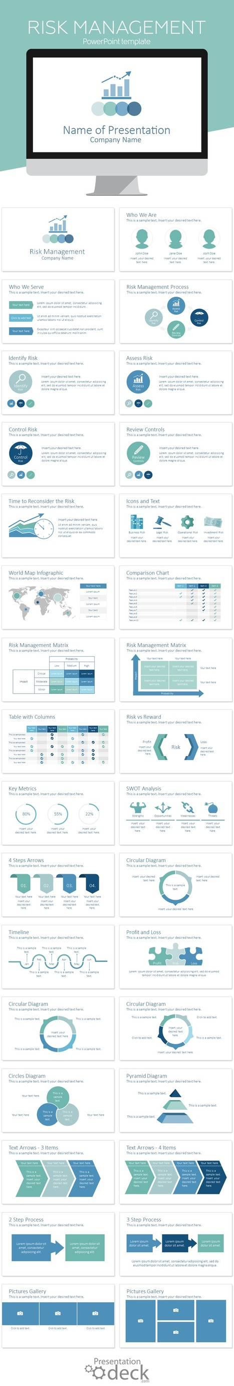 Powerpoint templates scoop risk management powerpoint template presentationdeck alramifo Images
