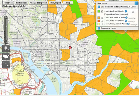 How To Find A Food Desert Near You : NPR | Mrs. Nesbitt's Human Geography World | Scoop.it