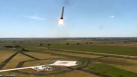 Incredible Technology: How to Make Reusable Rockets for Cheap Space Travel | Ideas | Scoop.it