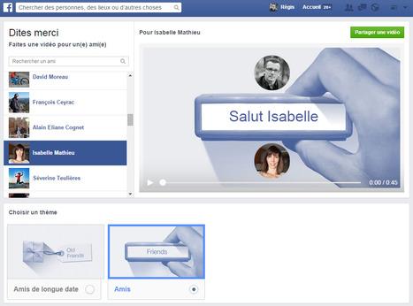 "Dites ""Merci"" avec Facebook...   toute l'info sur Facebook   Scoop.it"