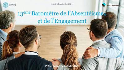 Matinée de présentation du 13e Baromètre Baromètre de l'Absentéisme et de l'Engagement