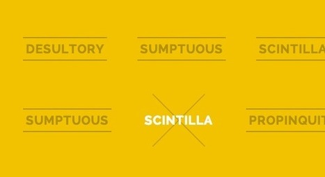 Creative Link Effects | Web Development & Design | Scoop.it
